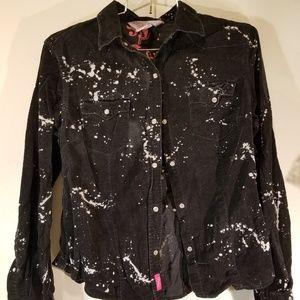 Pinky splattered paint design jacket size medium